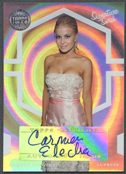 2005/06 Topps First Row #CE Carmen Electra Signature Swish Auto #47/50