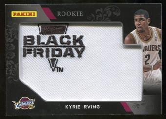 2012 Panini Black Friday Rookie of the Year Materials #ROYKI Kyrie Irving