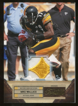 2011 Panini Timeless Treasures Jerseys Prime #71 Mike Wallace 03/25