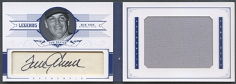 2012 Panini National Treasures #71 Tom Seaver Legends Cut Signature Jumbo Jersey Auto #2/5
