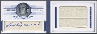 2012 Panini National Treasures #44 Luis Aparicio Legends Cut Signature Jumbo Jersey Auto #3/5