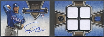 2012 Topps Five Star #YD Yu Darvish Quad Relic Booklet Rookie Jersey Auto #28/49