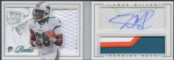 2012 Panini Playbook #194 Lamar Miller Rookie Patch Auto #102/149