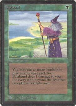 Magic the Gathering Beta Single Fastbond - SLIGHT PLAY (SP)