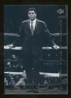 2000 Upper Deck Muhammad Ali Master Collection #25 Muhammad Ali /250