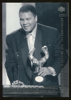 2000 Upper Deck Muhammad Ali Master Collection #28 Muhammad Ali /250