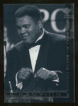 2000 Upper Deck Muhammad Ali Master Collection #29 Muhammad Ali /250