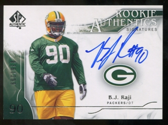 2009 Upper Deck SP Authentic #354 B.J. Raji RC Autograph /299
