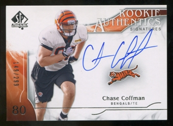 2009 Upper Deck SP Authentic #356 Chase Coffman Autograph /299