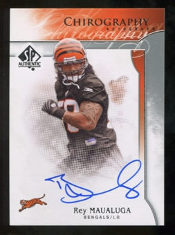 2009 Upper Deck SP Authentic Chirography #CHRM Rey Maualuga Autograph