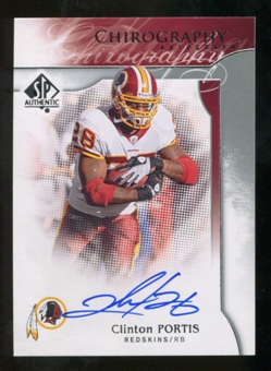 2009 Upper Deck SP Authentic Chirography #CHCP Clinton Portis Autograph