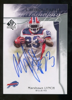 2009 Upper Deck SP Authentic Chirography #CHML Marshawn Lynch Autograph