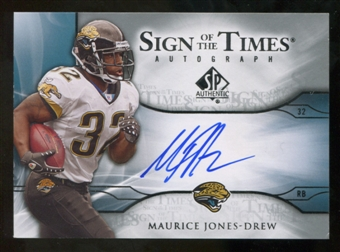 2009 Upper Deck SP Authentic Sign of the Times #STMJ Maurice Jones-Drew Autograph