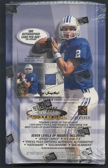 1999 Press Pass Football Retail Box