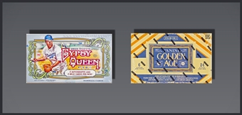 COMBO DEAL - 2013 Baseball Hobby Boxes (2013 Topps Gypsy Queen, 2013 Panini Golden Age)