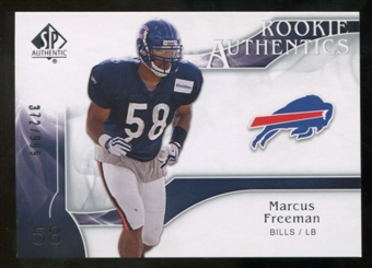 2009 Upper Deck SP Authentic #220 Marcus Freeman /999