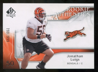 2009 Upper Deck SP Authentic #221 Jonathan Luigs /999