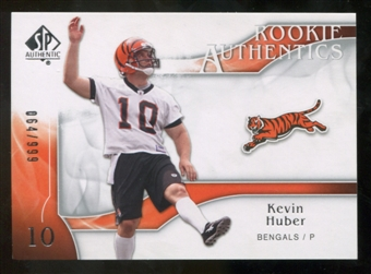 2009 Upper Deck SP Authentic #223 Kevin Huber RC /999