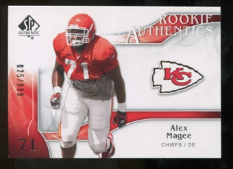 2009 Upper Deck SP Authentic #256 Alex Magee RC /999