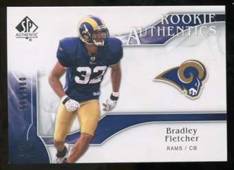 2009 Upper Deck SP Authentic #293 Bradley Fletcher RC /999