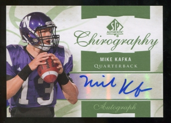 2010 Upper Deck SP Authentic Chirography #MK Mike Kafka Autograph