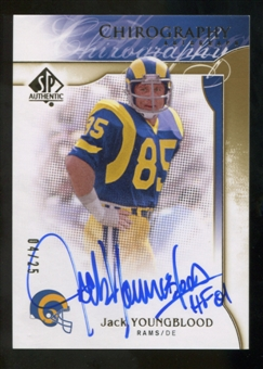 2009 Upper Deck SP Authentic Chirography Gold #CHJY Jack Youngblood Autograph /25