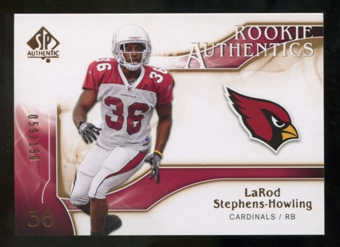 2009 Upper Deck SP Authentic Bronze #203 LaRod Stephens-Howling /150
