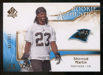 2009 Upper Deck SP Authentic Bronze #213 Sherrod Martin /150