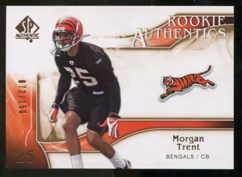 2009 Upper Deck SP Authentic Bronze #222 Morgan Trent /150