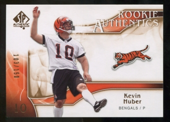 2009 Upper Deck SP Authentic Bronze #223 Kevin Huber /150