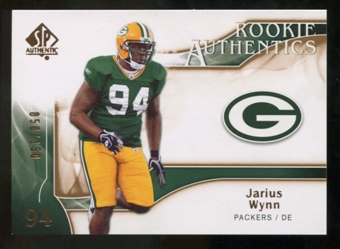 2009 Upper Deck SP Authentic Bronze #243 Jarius Wynn /150