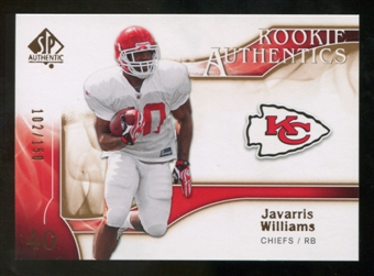 2009 Upper Deck SP Authentic Bronze #259 Javarris Williams /150