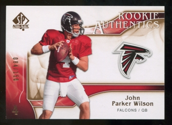 2009 Upper Deck SP Authentic Bronze #262 John Parker Wilson /150