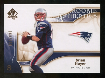 2009 Upper Deck SP Authentic Bronze #269 Brian Hoyer /150