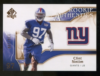 2009 Upper Deck SP Authentic Bronze #273 Clint Sintim /150
