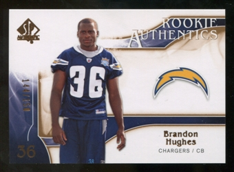 2009 Upper Deck SP Authentic Bronze #288 Brandon Hughes /150