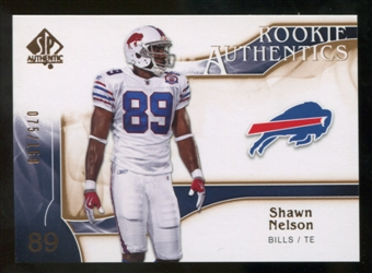 2009 Upper Deck SP Authentic Bronze #295 Shawn Nelson /150