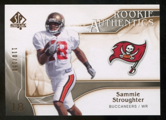 2009 Upper Deck SP Authentic Bronze #296 Sammie Stroughter /150