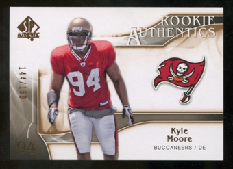 2009 Upper Deck SP Authentic Bronze #297 Kyle Moore /150