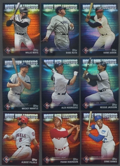 2012 Topps Home Run Legends Baseball Set