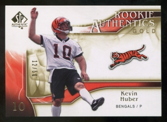 2009 Upper Deck SP Authentic Gold #223 Kevin Huber /50