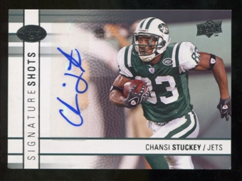 2009 Upper Deck Signature Shots #SSCS Chansi Stuckey Autograph