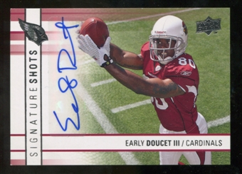 2009 Upper Deck Signature Shots #SSED Early Doucet Autograph