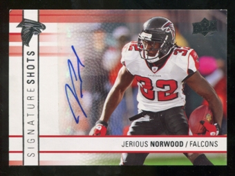 2009 Upper Deck Signature Shots #SSJN Jerious Norwood Autograph