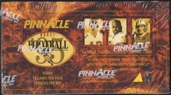 1995 Pinnacle Football Hobby Box