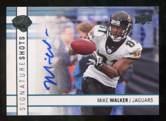2009 Upper Deck Signature Shots #SSMW Mike Walker Autograph