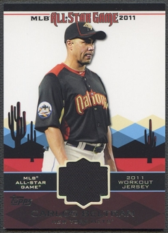2011 Topps Update #AS50 Carlos Beltran All-Star Stitches Jersey