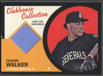 2012 Topps Heritage Minors #TW Taijuan Walker Clubhouse Collection Relics Rookie Jersey