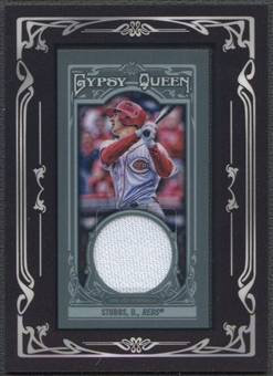 2013 Topps Gypsy Queen #DS Drew Stubbs Framed Mini Relics Jersey