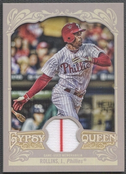 2012 Topps Gypsy Queen #JRO Jimmy Rollins Relics Jersey